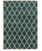 "JHB Design CLOSEOUT!  Brookside Exx Teal 3'3"" x 5'5"" Area Rug"