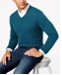 Club Room Men's V-Neck Cashmere Sweater, Created for Macy's