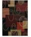 "Asbury Looms Contours Cha Cha 510 20576 69 Onyx 5'3"" x 7'6"" Area Rug"