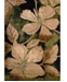 """Asbury Looms Contours Floral Canvas 510 28845 28C Green 2'7"""" x 7'4"""" Runner Rug"""
