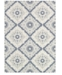 "Couristan Dolce 4077/6025 Brindisi Ivory-Grey 2'3"" x 3'11"" Indoor/Outdoor Area Rug"
