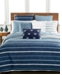 Hotel Collection Colonnade Blue Pair of European Shams