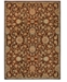 Kathy Ireland Home Ancient Times Ancient Treasures Brown Area Rugs