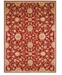 Kathy Ireland Home Ancient Times Ancient Treasures Red Area Rugs