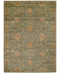 Kathy Ireland Home Ancient Times Ancient Treasures Teal Area Rugs