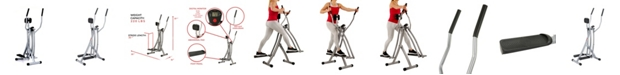 Sunny Health & Fitness SF-E902 Air Walk Trainer Glider w/ LCD Monitor