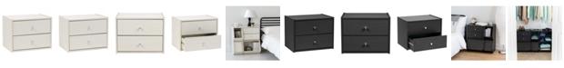 IRIS USA Tachi Modular Wood Stacking Storage Box With Drawer