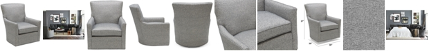 Furniture Brekton Fabric Swivel Glider