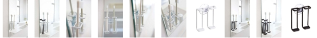 Yamazaki Tower Suction Cup Mounted Toothbrush Holder