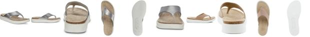Ecco Women's Corksphere Thong Sandals