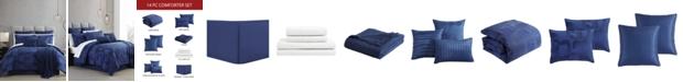 Hallmart Collectibles Bon-Nuit 14 PC King Comforter Set
