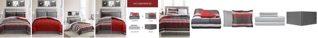 Fairfield Square Collection Austin 8-Pc. Reversible Bedding Sets
