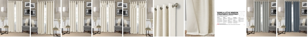 "Elrene Brooke 52"" x 108"" Faux-Silk Blackout Grommet Curtain Panel"