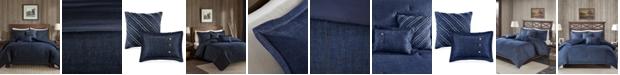 Woolrich Perry 4-Pc. Twin/Twin XL Denim Comforter Set