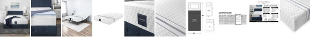 "MacyBed 12"" Plush Memory Foam Mattress , Quick Ship, Mattress in a Box - Twin"