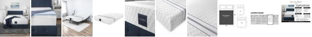 "MacyBed 12"" Plush Memory Foam Mattress, Quick Ship, Mattress in a Box - Queen"