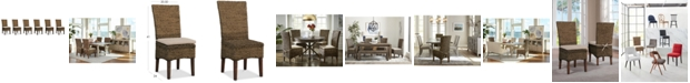 Furniture Calypso Dining Chair 6-Pc. Set (6 Woven Side Chairs)