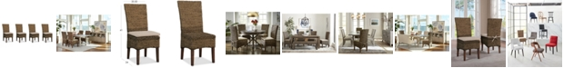 Furniture Calypso Dining Chair 4-Pc. Set (4 Woven Side Chairs)