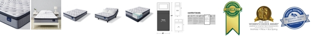 "Serta Perfect Sleeper Kleinmon II 13.75"" Plush Pillow Top Mattress - Twin"