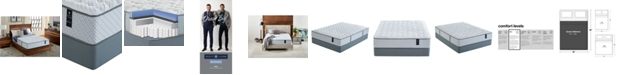 "Scott Living Castlebay 11"" Firm Mattress Set- Queen, Created for Macy's"