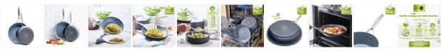"""GreenPan Paris Pro 10"""" & 12"""" Ceramic Non-Stick Fry Pan Set"""