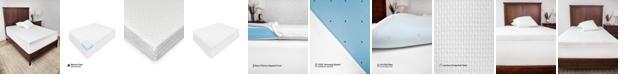 SensorPEDIC 2-Inch Majestic Ventilated Memory Foam Mattress Topper - King