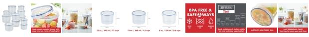 Lock n Lock Easy Essentials 24-Pc. Twist Food Storage Containers