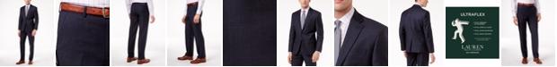 Lauren Ralph Lauren Navy Plaid Ultraflex Suit Separates