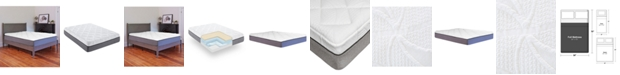 Chic Couture Sleep Trends Sofia Plush Gel Memory Foam 14-Inch Mattress, Quick Ship, Mattress in a Box - Full