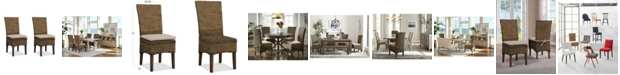 Furniture Calypso Dining Chair 2-Pc. Set (2 Woven Side Chairs)