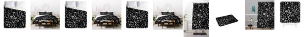 Deny Designs Iveta Abolina Chalk Crystals Queen Duvet Set