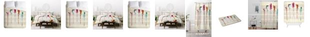 Deny Designs Iveta Abolina Feathered Arrows Queen Duvet Set