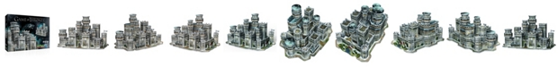 Wrebbit Game Of Thrones - Winterfell 3D Puzzle- 910 Pieces