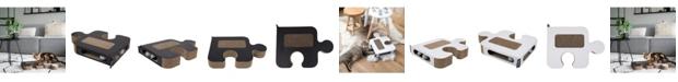 District 70 Puzzle Cardboard Cat Scratcher