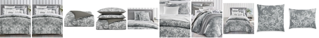 Charter Club Woven Floral 300-Thread Count 3-Pc. Full/Queen Comforter Set, Created for Macy's