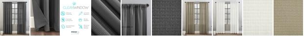 "Clean Window Waffle Texture 52"" x 96"" Anti-Dust Curtain Panel"