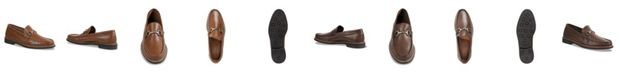 Sandro Moscoloni Men's Rolled Moc Slip-On with Ornament