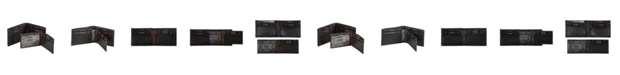 CHAMPS Genuine Leather RFID Blocking Removable Center Wallet