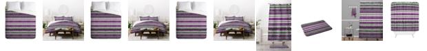 Deny Designs Iveta Abolina Purple Duvet Set, Queen