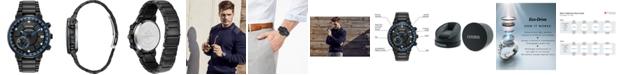 Citizen Eco-Drive Men's Satellite Wave GPS Black-Tone Stainless Steel Bracelet Watch 44mm