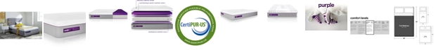 "Purple .4 Hybrid Premier 13"" Mattress - Full"