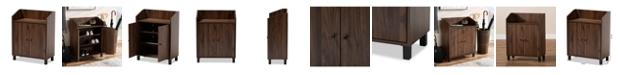 Furniture Rossin Shoe Cabinet w/ Shelf