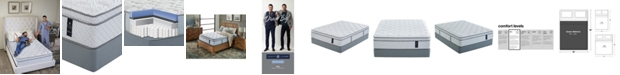 "Scott Living Evanton 14"" Firm Mattress Set- Queen Split, Created for Macy's"