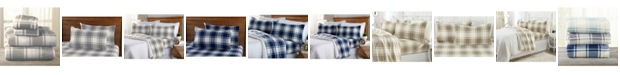 Great Bay Home Fashions Great Bay Home Polar Fleece Plaid Printed Queen Sheet Set