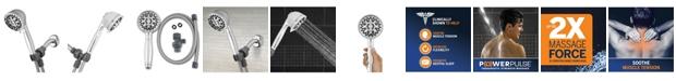 Waterpik XAT-643E 6-Spray Mode Power pulse Hand Held Shower Head