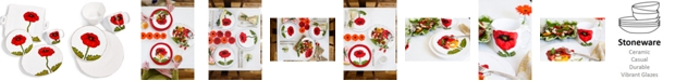 VIETRI Lastra Poppy Collection