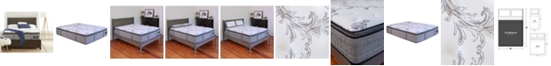 """Chic Couture Cool Gel Memory Foam and Wrapped Coil Hybrid 13"""" Pillow Top Mattress - Full, Mattress in a Box"""