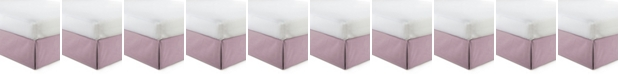 """Colcha Linens Cambric Rose Gold Bedskirt 15""""-Full"""