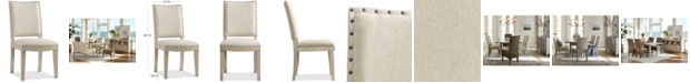 Furniture Parker Upholstered Side Chair, Created for Macy's