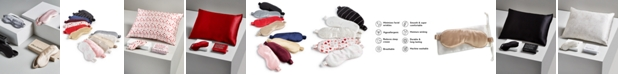 Silken Slumber Solid and Printed Silk Eye Mask Giftable Collection
